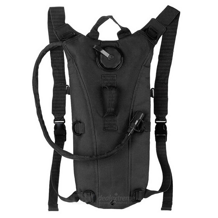 CTSmart Outdoor Cycling Mountaineering Water Bag Hydration Bladder Backpack - Black (2.5L)
