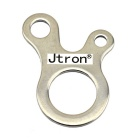 Jtron 3-Hole Multi-Purpose Outdoor Stainless Steel Fast Knot Sitominen Tool-Hopea