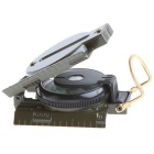 Mini militare di campeggio Marching Lensatic Compass Magnifier - Army Green