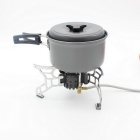 Bulin T4 Strong Power Multi Fuel Camping Stove Propane Gas Stove - Silvery Grey