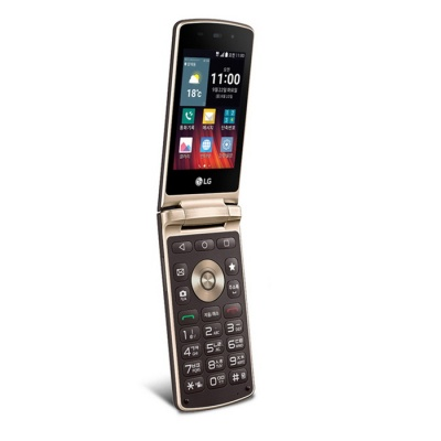 LG Wine Smart Jazz F610 LTE Smartphone - Brown