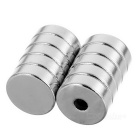 D12*4mm Round NdFeB Magnets Set - Silver (10PCS)