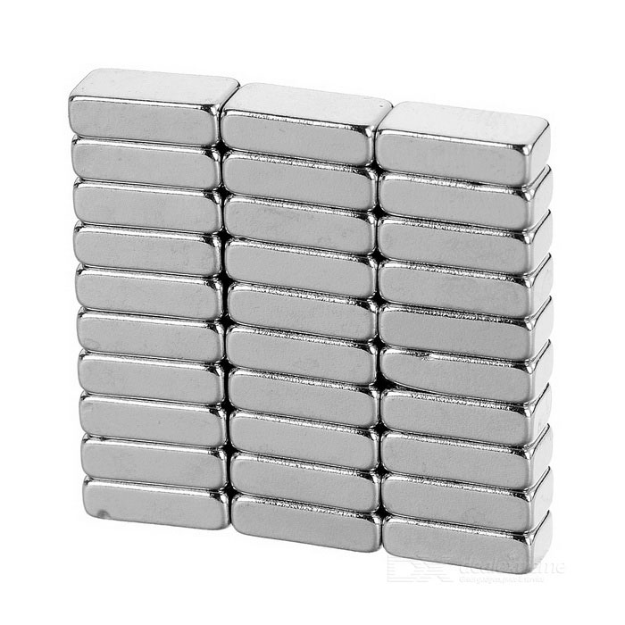 10*5*3mm Rectangular Strong NdFeB Magnet - Silver (30PCS)Magnets Gadgets<br>Form ColorSilver 30MaterialNdFeBQuantity1 SetNumber30Suitable Age 5-7 Years,8-11 Years,12-15 Years,GrownupsPacking List30 x Magnets<br>