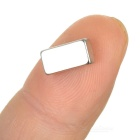 10*5*3mm Rectangular Strong NdFeB Magnet - Silver (20PCS)