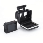 Protective Shell Case with Lens for GoPro Hero 3 GP29 - Black