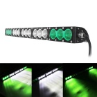 150W 15-LED 12750lm 6000K LED Worklight Bar Combo Green + White Beam Offroad 4WD SUV Driving Lamp