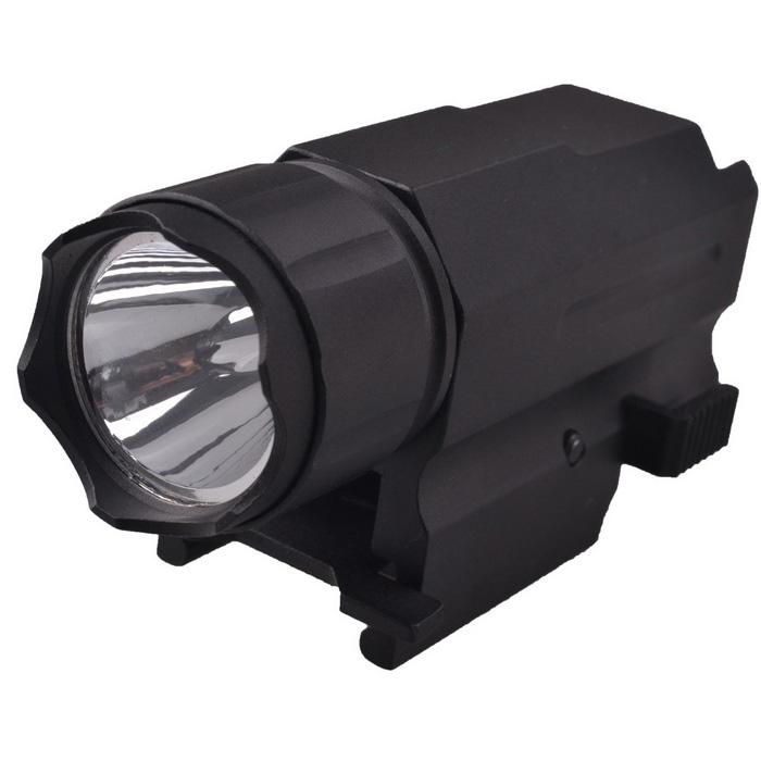 RichFire SF-P08 CREE XP-E 3-Mode LED tactique Pistol Flashlight - noir (1 * CR123)