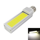 KINFIRE E27 9W 720lm 6000K LED COB White Light Energy Saving Lamp - Silver (AC 85~265V)