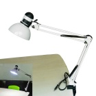 Jiawen 5W E27 LED White 400lm Foldable Clip-on Reading Light Desk Lamp