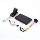 "5"" HD FPV Snowflake Display 5.8G Transmission for Little Pilot - Black"