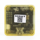 OCDAY Mini Virta CC3D Open Flight Controller w / Wire FPV QAV 250 400 Board - Musta + Keltainen