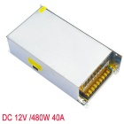 JIAWEN AC 110V/ 220V to DC 12V 40A 480W Transformer Switching Power Supply