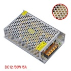 JIAWEN AC 110V/ 220V to DC 12V 5A 60W Transformer Switching Power Supply