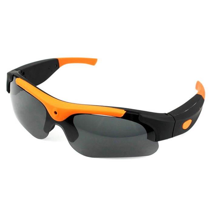 8.0MP 1080P Wide-Angle Sports Sunglasses Camcorder w/