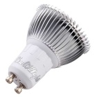 YouOKLight GU10 7W LED Spotlight Bulb Warm White 3000K 700lm 15-SMD 5630 - Silver (AC 85~265V)