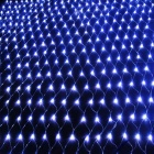 JIAWEN 2 * 2M 192-LED 8-Mode Azul Navidad / Ornamental Net luces