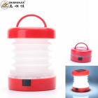 ZHISHUNJIA 5-LED 300lm 2-Mode White Lantern Camping Light - Red