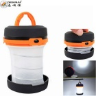 ZHISHUNJIA LED 500lm 3-Mode White Lantern Camping Light - Orange