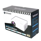 Fantaseal LP-M1 FHD 1080P mini projetor do diodo emissor de luz w / atv, hdmi, vga, USB 2.0, av, SD - branco (nós plugue)
