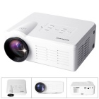 Fantaseal LP-M1 FHD 1080P Mini LED Projector w/ ATV, HDMI, VGA, USB 2.0, AV, SD - White (US Plug)