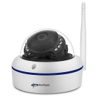 SunEyes SP-V702W 720P HD Waterproof Wireless Mini Dome IP Camera - White (AU Plug)