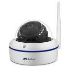 SunEyes SP-V702W 720P HD Waterproof Wireless Mini Dome IP Camera - White (US Plug)