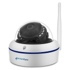 SunEyes SP-V702W 720P HD Waterproof Wireless Mini Dome IP Camera - White (EU Plug)