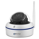 SunEyes SP-V1802W 1080P Full HD Mini IP Camera Dome Wireless Camera - White (AU Plug)
