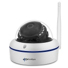 SunEyes SP-V1802W 1080P Full HD Wireless Mini Dome IP Camera - White (US Plug)