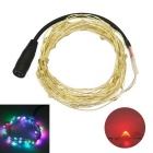 JIAWEN 5M Waterproof Flexible 3W RGB 240lm 50-0603 SMD Twinkle LED String Light - Silver (DC 12V)