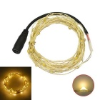 JIAWEN 5M Waterproof Flexible 3W Warm White 3200K 240lm 50-0603 SMD LED String Light (DC 12V)