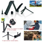 3-Fold selfie Manfrotto Bandeau + sangle de poitrine pour GoPro Hero Series, SJ4000 + Plus - Noir