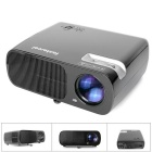 Fantaseal LP-S2 FHD 1080P Portable LED Projector w/ HDMI, VGA, USB 2.0, AV, SD - Black (US Plug)