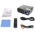 Fantaseal LP-S2 FHD 1080P Portable LED Projector w/ HDMI, VGA, USB 2.0, AV, SD - Black (US Plugs)