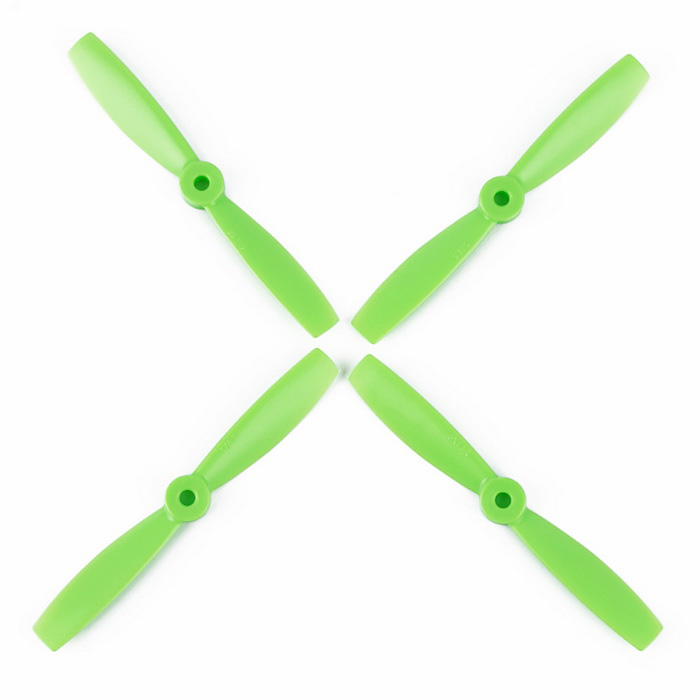 OCDAY VMAX9292 5045 Strengthened 2-Blade CCW & CW Propellers Set for H250 - Green (2 Pairs)