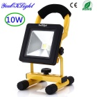 Floodlight bianco LED ricaricabile 10W 6000K 800lm - Black + Yellow (connettori statunitensi)