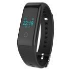 V16 Waterproof Bluetooth V4.0 Smart Bracelet Wristband w/ Sleep Tracker / Pedometer - Black