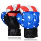 PU Boxing Gloves for Children - White + Blue + Multicolor