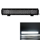 180W 36-LED 15300lm 6000K White Combo Beam Worklight Bar w/ Lens - Black (DC 10~30V)