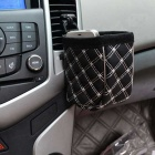 ZIQIAO CZ-06 Multifunctional Car Storage Bag - Black + White