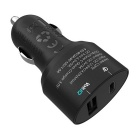 Tronsmart Quick Charege 3.0 &Type-C Car Charger - Black