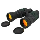 Bullets Pattern 10x50 Binocular Telescope w/ Compass - Black