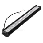 240W 24000lm 6000K Combo Work Light Bar Offroad SUV ATV lampa w / Lens - Black
