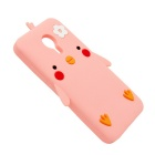Protective Drop Resistance Shockproof Silicone Case for MEIZU MX5 - Pink
