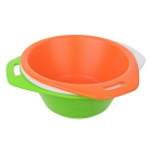Fire-Maple Outdoor Camping Picnic Tableware Bowls Set - Orange + Green + Multi-Colored