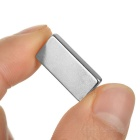 Rectangular Strong 20x10x3mm NdFeB Magnet-Prata (5PCS)