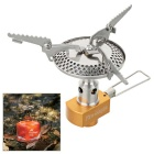 Fire-Maple Outdoor Camping Light Weight Portable Folding Gas Stove - Silver + Multicolor