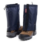 NatureHike Outdoor Water-Resistant Warm Snow Shoes Cover Wrap Legging Gaiter - Navy Blue (M / Pair)