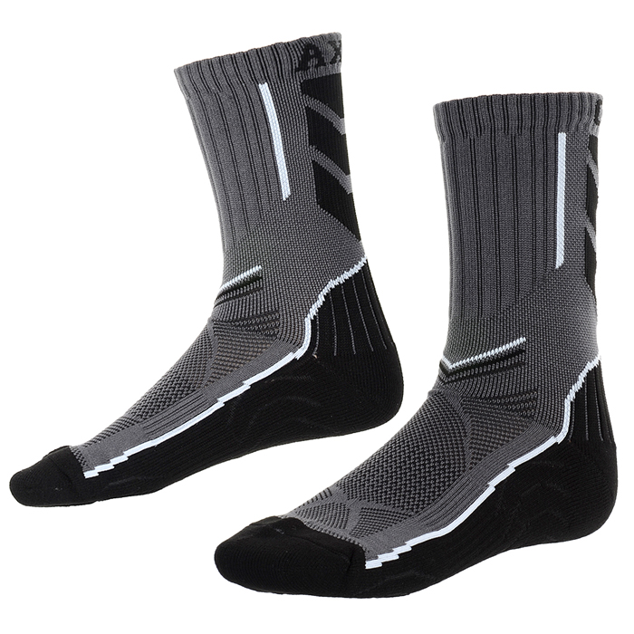 CAXA Mens Lengthened Quick Dry Antibacterial Socks for Running Skiing - Black + White + Grey (Pair)Form ColorBlack + white + greySizeFree SizeQuantity1 DX.PCM.Model.AttributeModel.UnitMaterialPolyester fiber spandexShade Of ColorBlackSeasonsFour SeasonsGenderMensSock Length of Foot34 DX.PCM.Model.AttributeModel.UnitLength19 DX.PCM.Model.AttributeModel.UnitBest UseRunning,Mountaineering,Travel,CyclingSuitable forAdultsPacking List1 x Pair of socks<br>