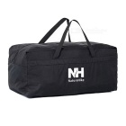 NatureHike Ultra-Large Outdoor Travel Camping Nylon Organizer Storage Bag Handbag - Black (100L)
